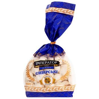Пельмені Імператор смаку Сибірські зі свининою та яловичиною заморожені 900г - купити, ціни на Таврія В - фото 1
