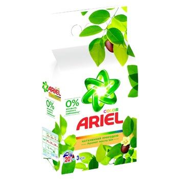 Ariel Shea Oil Aroma Automat Laundry Powder Detergent 3kg - buy, prices for CityMarket - photo 5