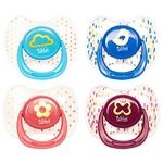 Lindo Silicone Round Soother with Soft Edges 6+