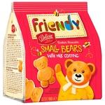 Печенье Friendy Мини – Мишутка сдобное с молочной глазурью 100г