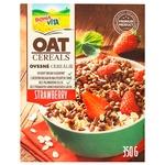 Завтрак сухой Bona Vita крупы овсяные с клубникой 350г