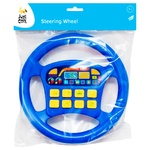 Just Cool Musical Steering Wheel Toy