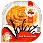 Пиріг Valesto Балканський із витяжного тіста філло з начинкою вишня і заварним кремом заморожений 550г