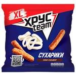 Сухарики Хрусteam пшенично-ржаные со вкусом кальмара 110г