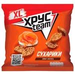 Khrusteam Salmon Flavored Wheat-Rye Crackers 110g