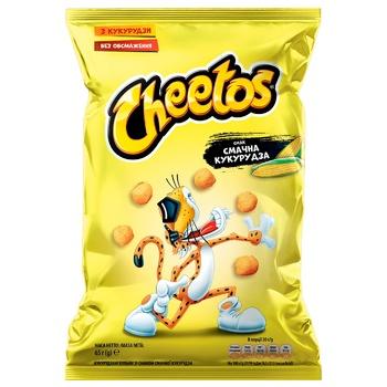 Шарики Cheetos Вкусная Кукуруза 65г