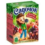Sadochok Apple-red grape Nectar 0,2l