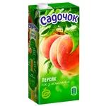 Sadochok Peach Juice 0,95l