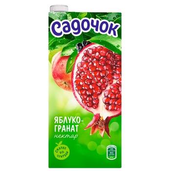 Sadochok Apple-pomegranate Nectar 0,95l - buy, prices for CityMarket - photo 2