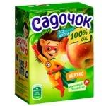 Sadochok Apple Juice without Sugar 0,2l