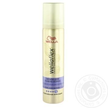 Лак для волос Wellaflex объем для тонких волос 75мл