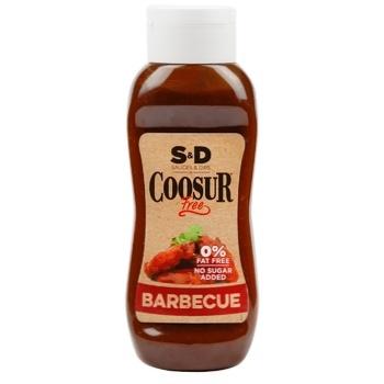 Соус Coosur барбекю без сахара 450г