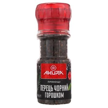 Приправа  Акура Перец черный горошком 60г