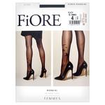 Fiore Rondini Women's Tights Black 20 Den Size 4