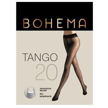 Колготы Bohema Tango 20 ден женские натуральные р.2