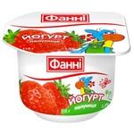 Йогурт Фанни Клубника 1,5% 115г
