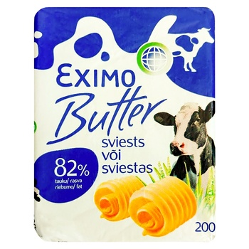 Eximo Extra 82% Butter 200g