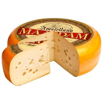 Сир Amstelland Маасдам 45% ваговий