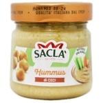 Хумус Sacla з нуту консервований 190г