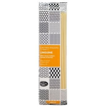 Макароны Pasta Reggia La Ruvida Linguine 500г - купить, цены на МегаМаркет - фото 1