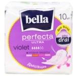 Bella Perfecta Ultra Violet Hygienical Pads 10pcs