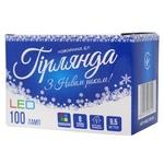 Электрогирлянда LED 100 ламп 9,5м - купить, цены на МегаМаркет - фото 2