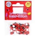 Maxi Ladybugs for Decorating 8*11mm 20pcs