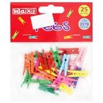 Maxi Clothespins for Decorating Color 25*8mm 25pcs
