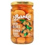 the Banka Green Olives with Pits 300g
