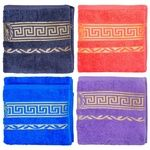 GM Textile Terry Towel for Legs with a Border 50х90cm in Assortment