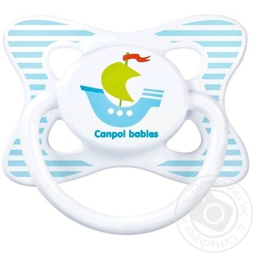 Canpol babies Summertime Soother silicone symmetrical 6-18m assortment - buy, prices for MegaMarket - image 1