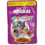 Whiskas With Chicken In Sause For Kittens Food - buy, prices for Furshet - image 8