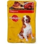 Conserve Pedigree meat in sauce for dogs 100g Russia