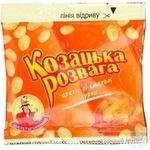 Арахіс Козацька розвага зі смаком курки смажений солоний 35г Україна