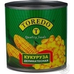 Vegetables corn Toredo canned 425ml can Thailand