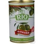 Оливки зелені Rio з кісточкою 300мл