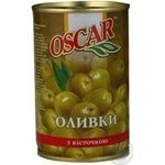 olive Oscar green with bone 300g can