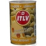 olive Itlv with cheese green stuffed 300g can Spain