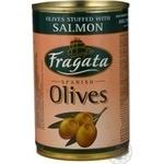 olive Fragata salmon stuffed 300ml can Spain