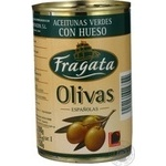 olive Fragata green with bone 300ml can Spain