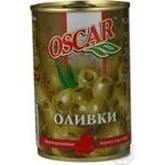 olive Oscar pepper green stuffed 300g can