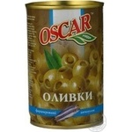 olive Oscar green stuffed 300g can