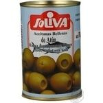 olive Soliva tuna stuffed 314ml can Italy