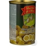 Оливки зелені Maestro de Oliva з лимоном 300мл - купити, ціни на МегаМаркет - фото 4
