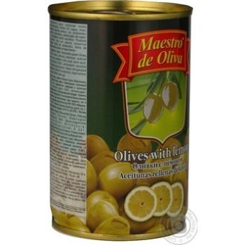 Оливки зелені Maestro de Oliva з лимоном 300мл - купити, ціни на Восторг - фото 4