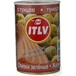 olive Itlv tuna stuffed 314ml can Italy