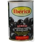 Iberica Large Boneless Black Olives