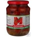 tomato Marinado pickled 720ml glass jar Ukraine