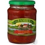 Vegetables Family vegetable canned 720ml glass jar Ukraine