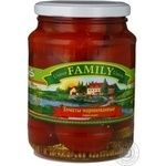 Vegetables tomato Family canned 720ml glass jar
